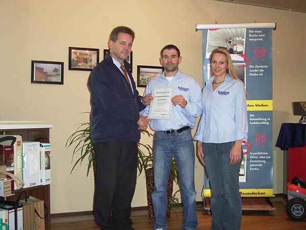 2008: Eintritt in das Franchise-Unternehmen Plameco