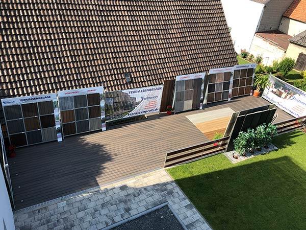 2017: Erstellung einer Terrassenausstellung